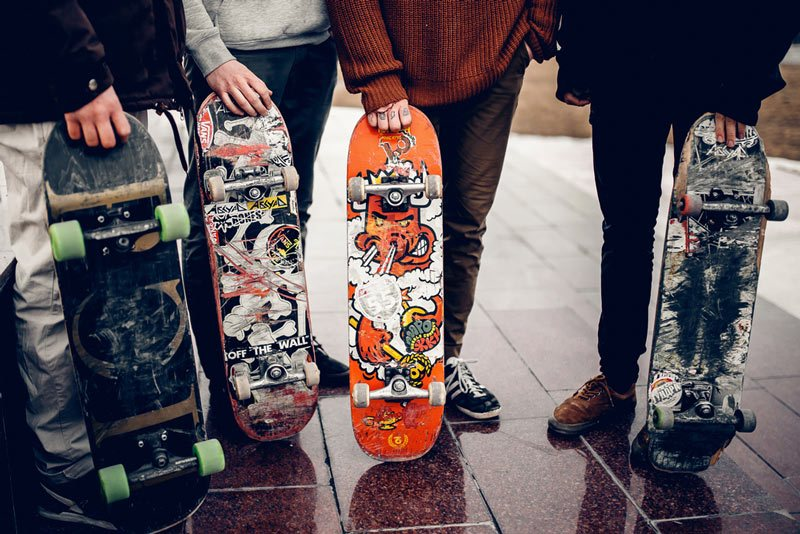 good complete skateboard